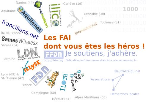 Campagne d'adhesion FFDN